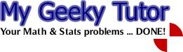 My Geeky Tutor - Get Statistics Homework Help